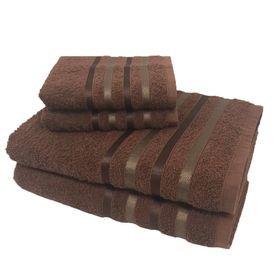 toalha de banho toalha de banho monaco jogo com 4 pecas 2 banho e 2 rosto marrom p 1581601475887 1